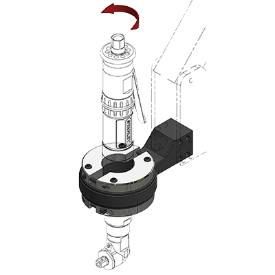 Vertical Rotation Clamp